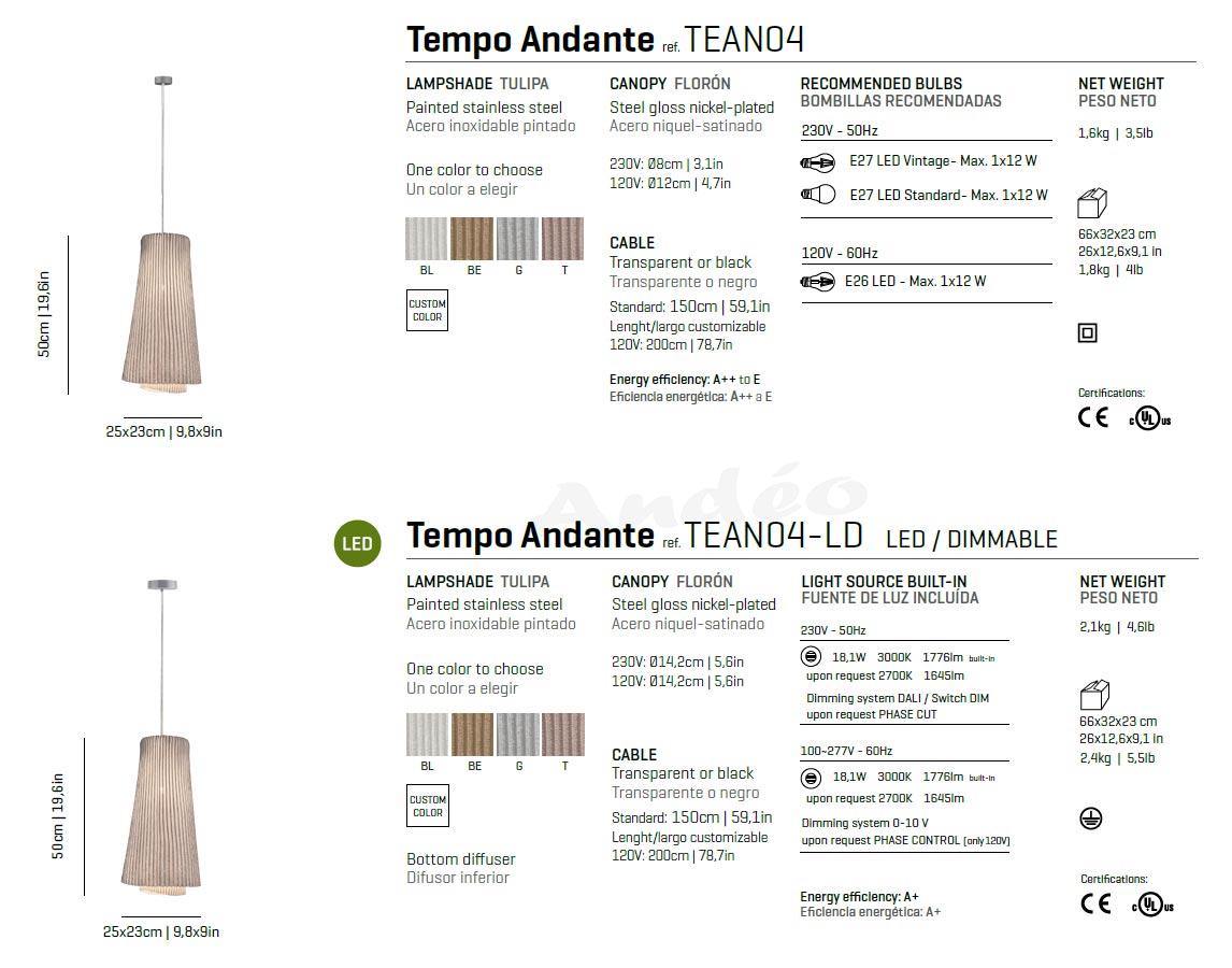 Arturo Alvarez Tempo Andante Tech