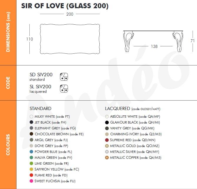 Design of Love Sir of Love 200 Tech