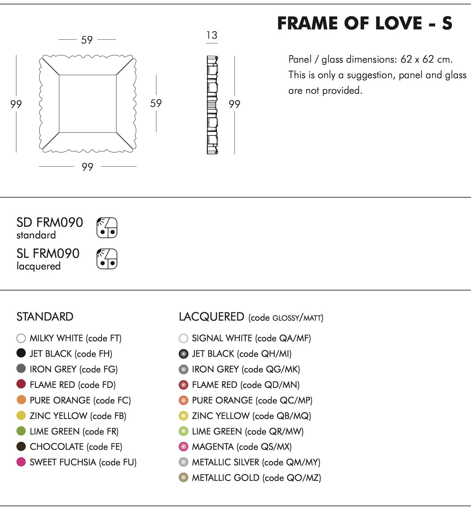 Design of Love Frame of Love S Tech