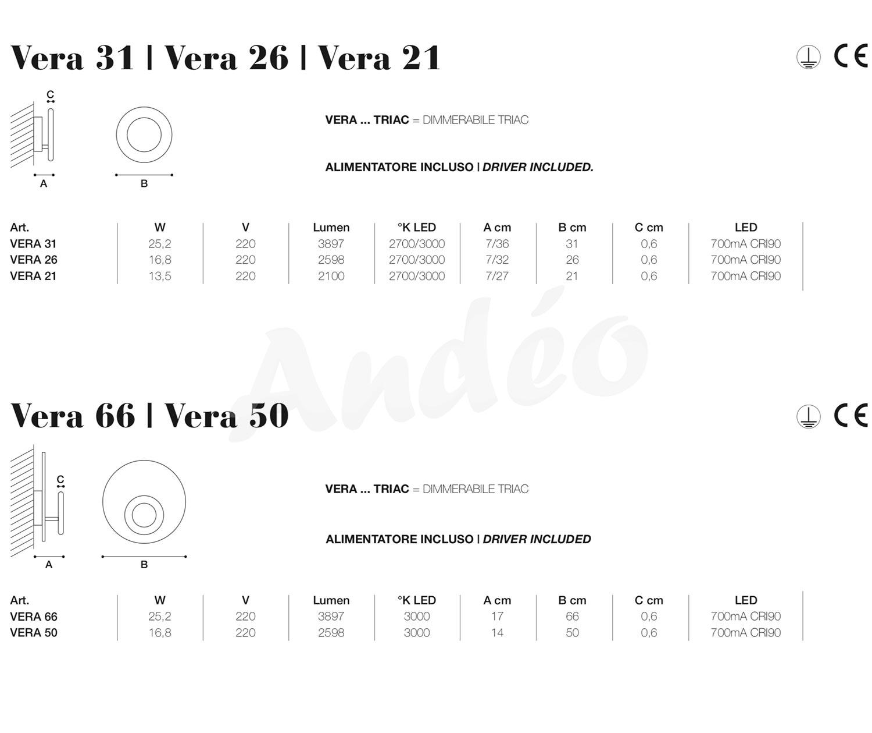 Icone Luce Vera 50 66 Tech