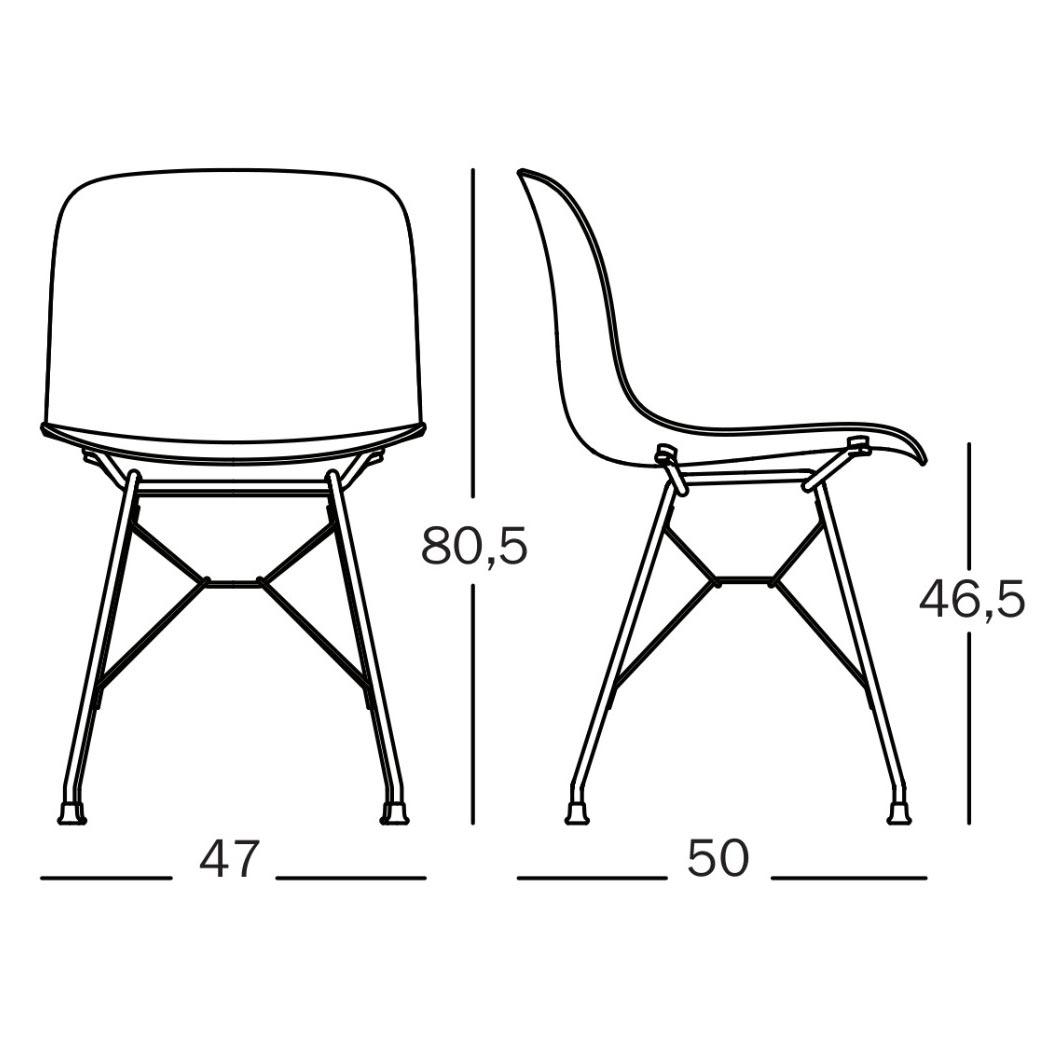 Magis Troy Chair Eiffel Tech