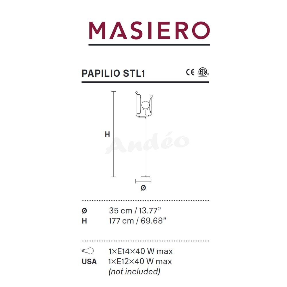 Masiero Papilio STL1 Tech