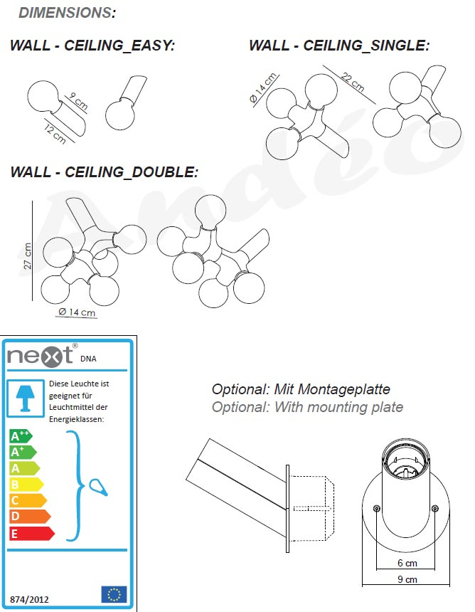 Next DNA Wall Ceiling Tech
