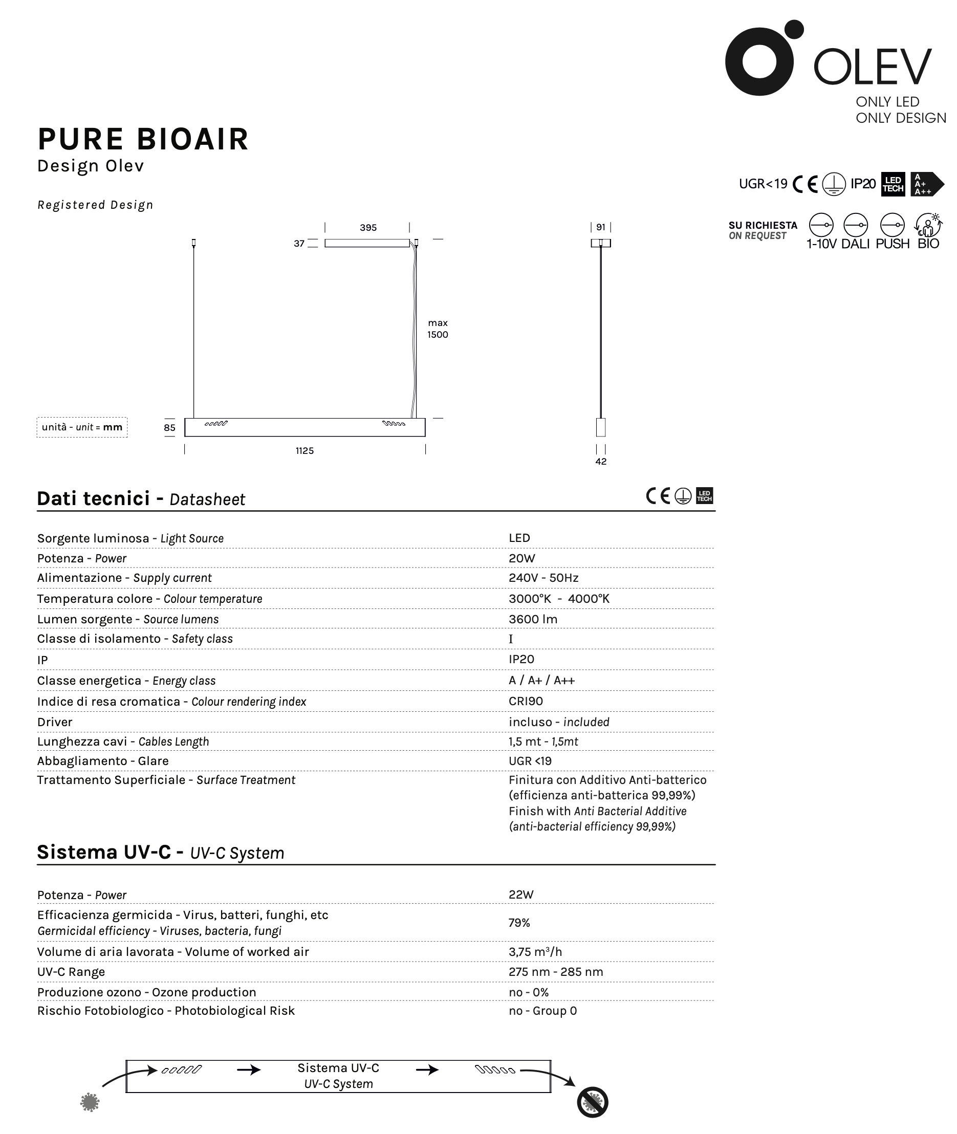 Olev Pure Bioair Tech